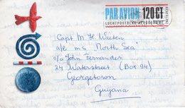 1 Dec 93  Luchtpostblad Aerogramme  120 Ct  Van Zeist Via Utrecht Naar Georgetown Guyana - 1980-... (Beatrix)
