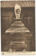 9Dp-802: ALBERT 8 Lichtervelde  Relikwie Der H. Margarita Van 1690. - Lichtervelde