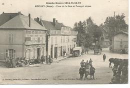 Ac8/      55    Revigny      Place De La Gare & Passage à Niveau     (animations) - Revigny Sur Ornain