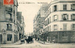 75  PARIS  16e AR  RUE DUFRESNOY - Arrondissement: 16