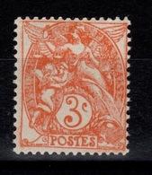 Type Blanc - YV 109c N** Type II - Unused Stamps