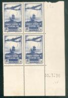 Lot 455 France Coin Daté N° 320 Du 30/7/1936 (**) - Coins Datés