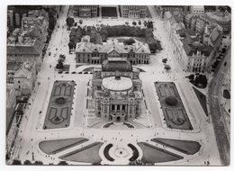 1945 WWII, YUGOSLAVIA, CROATIA, ZAGREB, ORIGINAL AERIAL PHOTO IN AID OF CROATIAN WINGS, CENSORED - Yugoslavia