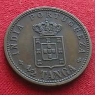 India Portugal 1/2 Tanga 1903 Indua Portugueza - Inde