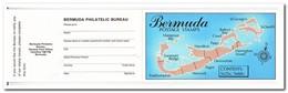 Bermuda 1993, Postfris MNH, Roses, Flowers ( 2 Booklets, Carnets ) - Bermuda