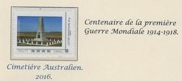 POZIERES  Somme - Gepersonaliseerde Postzegels (MonTimbraMoi)