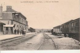 La Ferté Macé-La Gare-Vue Sur Les Quais. - La Ferte Mace