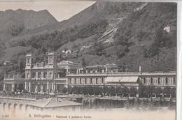 Cartolina - Postcard / Viaggiata -sent / San Pellegrino Terme, Kursaal E Palazzo Fonte. - Bergamo