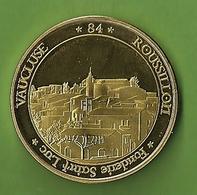 Médaille Touristique France Village ROUSSILLON EN PROVENCE Vaucluse Fonderie Saint Luc Ocres Médailles Jetons Villages - Touristiques