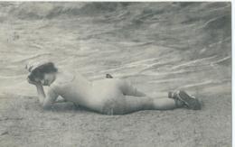 Oostende - Ostende - Baigneuse - Baadster - 1911 - Oostende