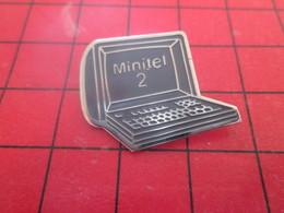 1010 Pins Pin's / Rare & Belle Qualité  THEME INFORMATIQUE / MINITEL 2 La Techno De L'espace !!! - Informatique