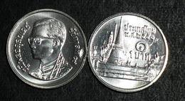 Thailand Coin 1 Baht 2008-2011 Circulation Palace Y183 UNC - Thailand