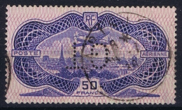 France Yv AE 15 Signed/ Signé/signiert/ Approvato  2x   GT Perforated Fold - Airmail