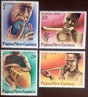 Papua New Guinea 1979 Musical Instruments MNH - Papua-Neuguinea