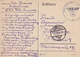 Feldpost Innsbruck Nach Wien - Kdo. Der 537. Inf.-Division - 1940 (41555) - Briefe U. Dokumente