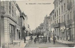 26 ROMANS RUE JACQUEMART 31 - Romans Sur Isere