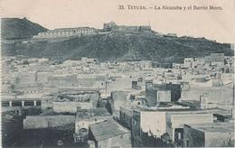 CPA - AK Tetuán Tétouan تطوان  Alcazaba Barrio Moro A Tanger Ceuta Marokko المغرب Morocco Maroc Marruecos Afrique Afrika - Tanger