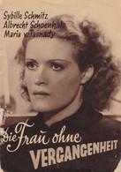 Kinoprogramm - Die Frau Ohne Vergangenheit - 16 S. - Schmitz Schoenhals Tasnady - 1939 (41557) - Cinemania