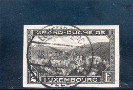 LUXEMBOURG 1935 O - Oblitérés