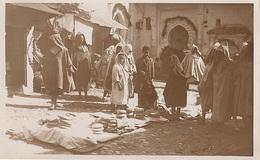 CPA AK Tetuán Tétouan تطوان  Mercado سوق A Tanger طنجة Ceuta سبتة Marokko المغرب Morocco Maroc Marruecos Afrique Afrika - Tanger