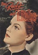 Kinoprogramm - Das Recht Auf Liebe - 6 S. - Magda Schneider Paul Wegener - 1939 (41558) - Merchandising
