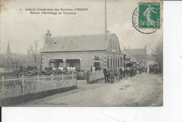 TREVIERES   Station D'ecremage Laiterie Cooperative Des Fermiers D'isigny 1910 - France