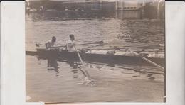 JESUS CREW COLLAPSE AT HENLEY CAMBRIDGE  OXFORD 16*12CM Fonds Victor FORBIN 1864-1947 - Deportes