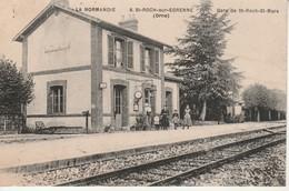 La Normandie-St Roch Sur Egrenne-Gare St Roch St Mars. - Francia