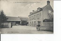 LE FRESNE CAMILLY   Cafe Epicerie HEBERT   1927 - France
