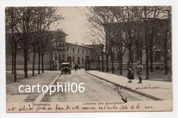 - CPA STRASBOURG (67) - Caserne Des Pontonniers (avec Personnages) - Edition J. Diebold - - Strasbourg