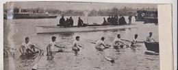 THE SUBMERGED CAMBRIDGE BOAT ETAT SEE SCAN 30*11CM Fonds Victor FORBIN 1864-1947 - Deportes