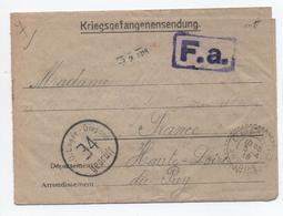 KRIEGSGEFANGENENSENDUNG Avec TàD De CEAUX D'ALLEGRE (HAUTE LOIRE) - WW II