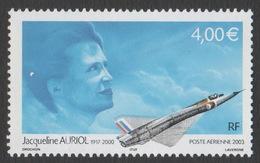 France 2003 Neuf Poste Aérienne Aviation Aviatrice Jacqueline Auriol YT PA 66 - France