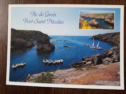 L21/408  Ile De Groix - Port St Nicolas Et Le Rocher De La Vache - Groix