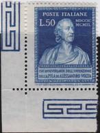 Italy    .     Yvert    .     550      .     **  .     MNH  .   /    .   Neuf SANS  Charniere ** - 1946-60: Nieuw/plakker