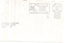 DORDOGNE - Dépt N° 24 = MONTIGNAC 1959 = FLAMME PP SECAP Illustrée ' SITES / CAMPING / GROTTE Sans S De LASCAUX ' - Préhistoire