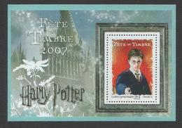 France 2007 Feuillet Neuf Fête Du Timbre Harry Potter - Blocs & Feuillets