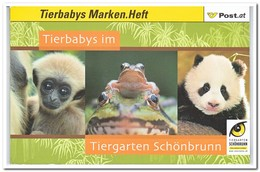 Oostenrijk, Postfris MNH, Baby Animals In The Zoo - 1945-.... 2de Republiek