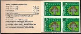 Svizzera/Suisse/Switzerland: Libretto, Booklet, Carnet, Stemma, Blason, Arms, Pro Juventute - Francobolli