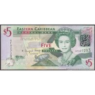 TWN - EAST CARIBBEAN STATES 47a - 5 Dollars 2008 Prefix AF UNC - Oostelijke Caraïben