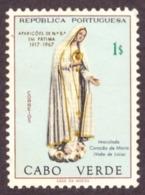 Cabo Verde / Cap Vert - 1967 Cinquentenário Das Aparições De Fátima  # MNH #  1$00 -  YVERT Nº 336 Rép. Portuguesa - Cap Vert