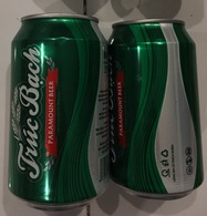 Vietnam Viet Nam Truc Bach 330ml Empty Beer Can - New Design / Opened By 2 Holes - Cans