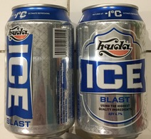Vietnam Viet Nam ICE HUDA 330ml Empty Beer Can / Opened By 2 Holes At Bottom - Cans