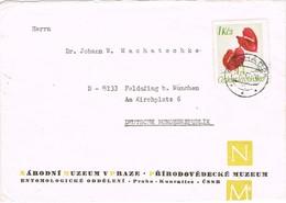 32979. Carta PRAHA (Checoslovaquia) 1967. Museum National Parha Entomologic  N.M. - Checoslovaquia