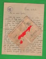 POW Prisoners Of War Prigionieri Di Guerra Prisonniers De Guerre From INDIA BOMBAY To Vicenza 1941 Busta + Lettera - Documents