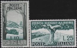 Italy    .     Yvert    .     618/619      .     **  .     MNH  .   /    .   Neuf SANS  Charniere ** - 6. 1946-.. Republik