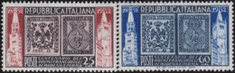 Italy    .     Yvert    .     627/628      .     **  .     MNH  .   /    .   Neuf SANS  Charniere ** - 1946-60: Neufs
