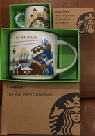 Set Of 02 Vietnam Starbucks YOU ARE HERE YAH Ba Na Hills 14 & 02 Oz Cups / Mug - Brand New - Other