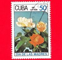 CUBA - 1987 - Festa Della Mamma - Fiori - Rose - 50 - Cuba