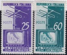Italy    .     Yvert    .     672/673     .     **  .     MNH  .   /    .   Neuf SANS  Charniere ** - 6. 1946-.. Republik